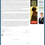 Dmitri Chavkerov | Leaving Money on the Table | Press Release in Daily Herald