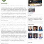 Dmitri Chavkerov | Leaving Money on the Table | Press Release in Atlanta Business Chronicle
