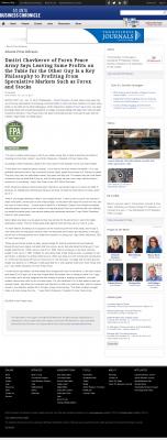 Dmitri Chavkerov | Speculator Attitude - Atlanta Business Chronicle - Greed Factor