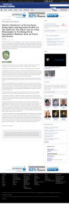Dmitri Chavkerov | Speculator Attitude - Birmingham Business Journal - Greed Factor