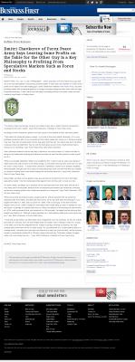 Dmitri Chavkerov | Speculator Attitude - Business First of Buffalo - Greed Factor
