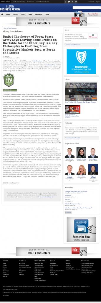 Dmitri Chavkerov | Speculator Attitude -Business Review (Albany)- Greed Factor