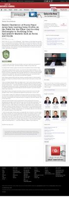 Dmitri Chavkerov | Speculator Attitude - Dayton Business Journal - Greed Factor