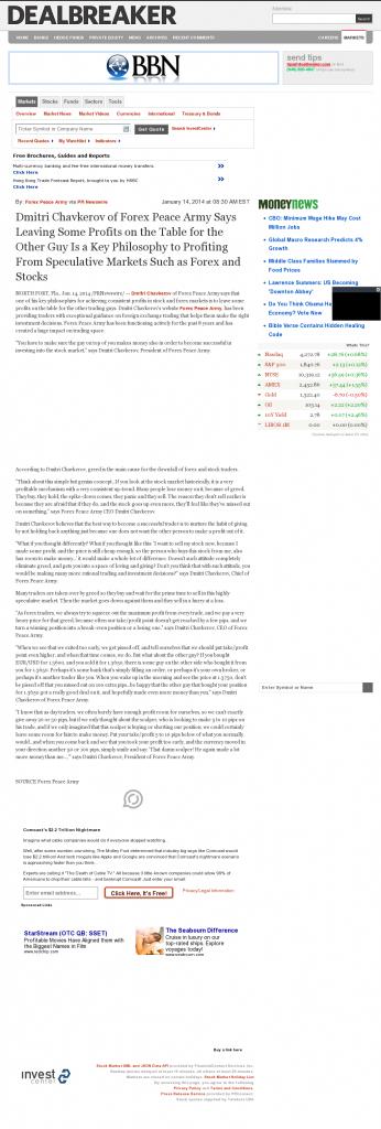 Dmitri Chavkerov   Speculator Attitude -Dealbreaker- Greed Factor