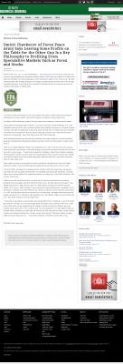 Dmitri Chavkerov | Speculator Attitude - Denver Business Journal - Greed Factor
