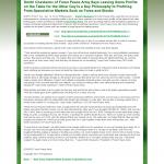 Dmitri Chavkerov | Leaving Money on the Table | Press Release in Gold Alliance Group