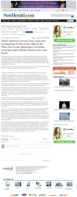 Dmitri Chavkerov | Speculator Attitude - Sun Herald (Biloxi, MS) - Greed Factor