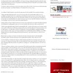 Dmitri Chavkerov | Leaving Money on the Table | Press Release in Telegraph-Macon (Macon, GA)