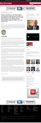 Dmitri Chavkerov | Speculator Attitude - Triangle Business Journal - Greed Factor
