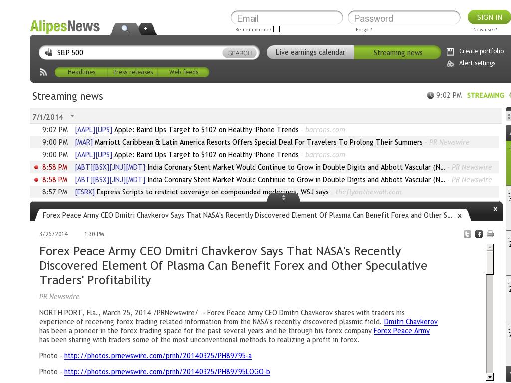 Forex Peace Army | Benefits of Plasma-AlipesNews- Forex Trading