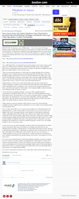 Forex Peace Army | Benefits of Plasma- Boston Globe - Forex Trading