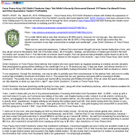 Forex Peace Army | Profit From NASA's Plasma Discovery | Press Release in Journal of Common Stock