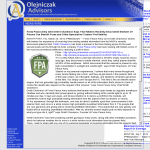 Forex Peace Army | Profit From NASA's Plasma Discovery | Press Release in Olejniczak Advisors