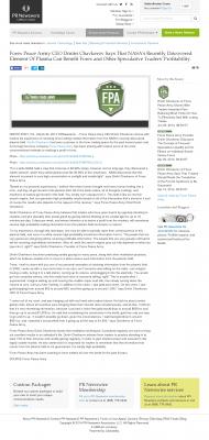 Forex Peace Army | Benefits of Plasma- PR Newswire - Forex Trading